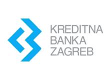 Kreditna banka Zagreb logo
